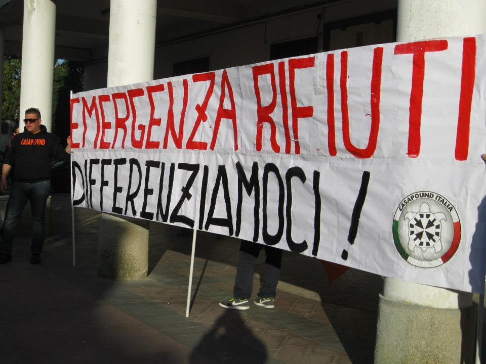 Emergenza rifiuti: Sit-in di protesta a Mileto (VV)