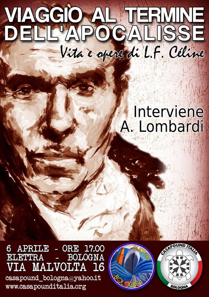Conferenza a Bologna, 6 Aprile