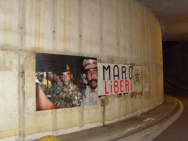 Caso marò: CasaPound Italia, decine di striscioni tra Udine e Pordenone in difesa dei leoni del San Marco
