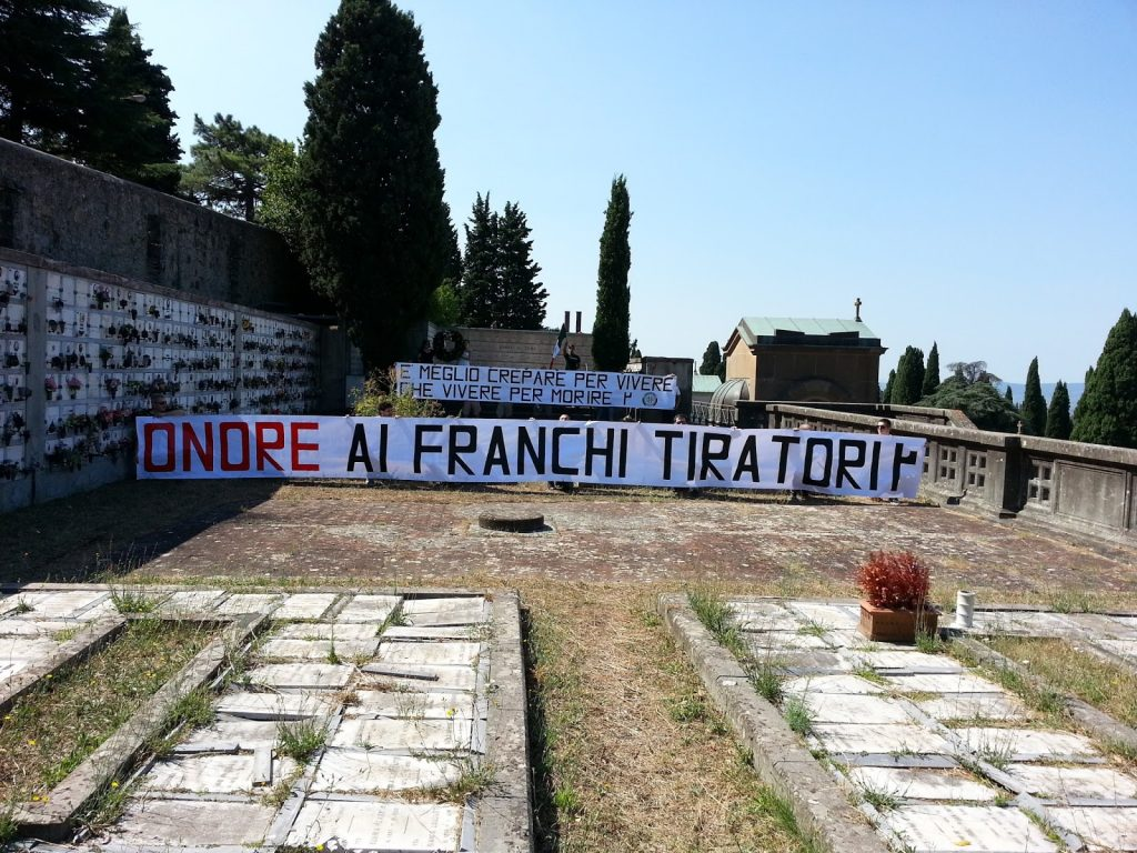 CasaPound Firenze ricorda i Franchi Tiratori