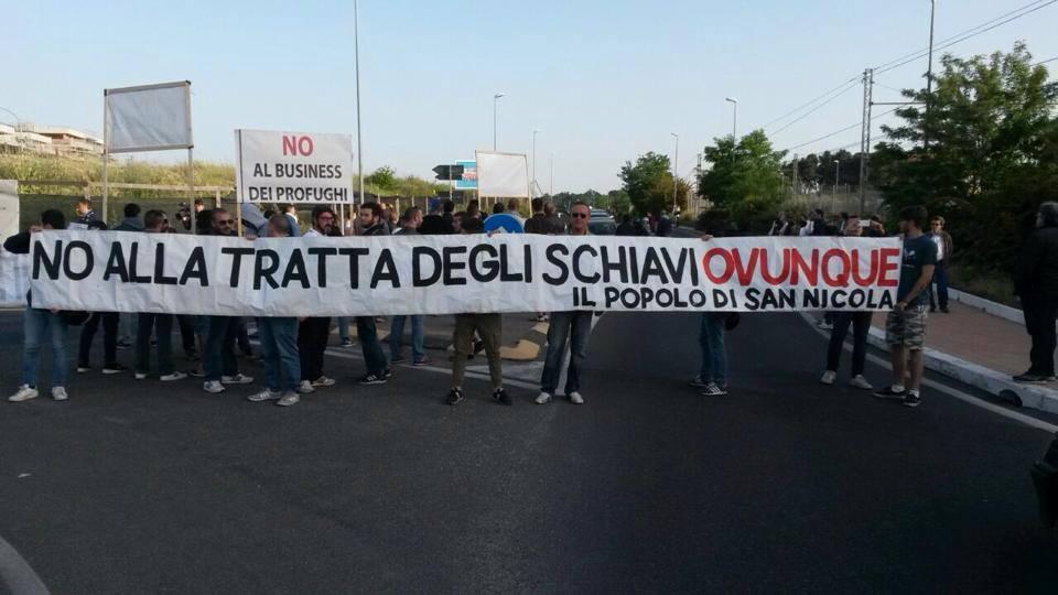CasaPound Italia, al fianco dei residenti di Casale San Nicola per impedire arrivo profughi