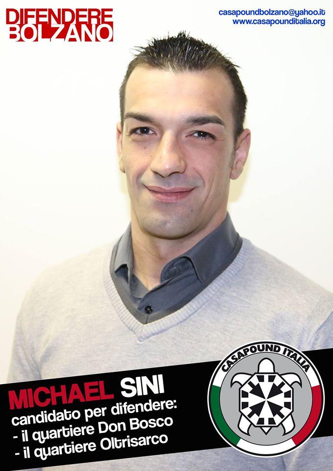 Bolzano, consigliere di CasaPound blocca clandestino in fuga