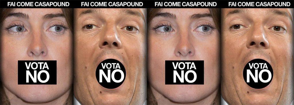 Referendum, CasaPound: ora rapidamente al voto