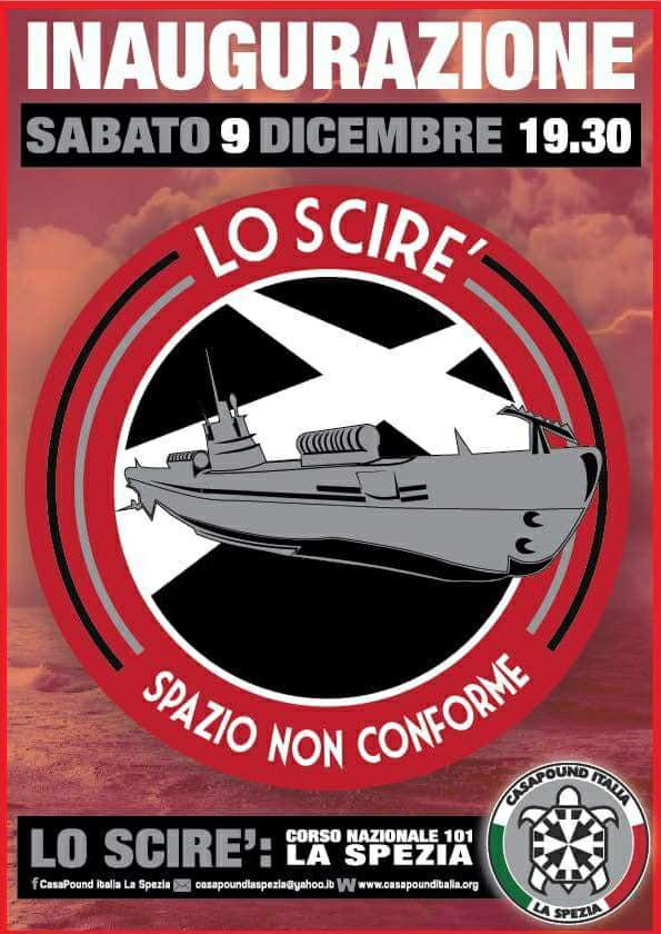 Inaugurazione nuove sedi di CasaPound a La Spezia e Verona
