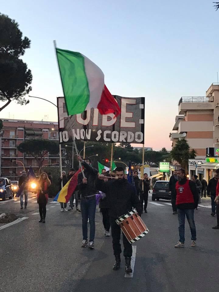 """Foibe, CasaPound ricorda i martiri in tutta Italia: """"Il silenzio la migliore risposta ai vigliacchi cori di Macerata"""""""
