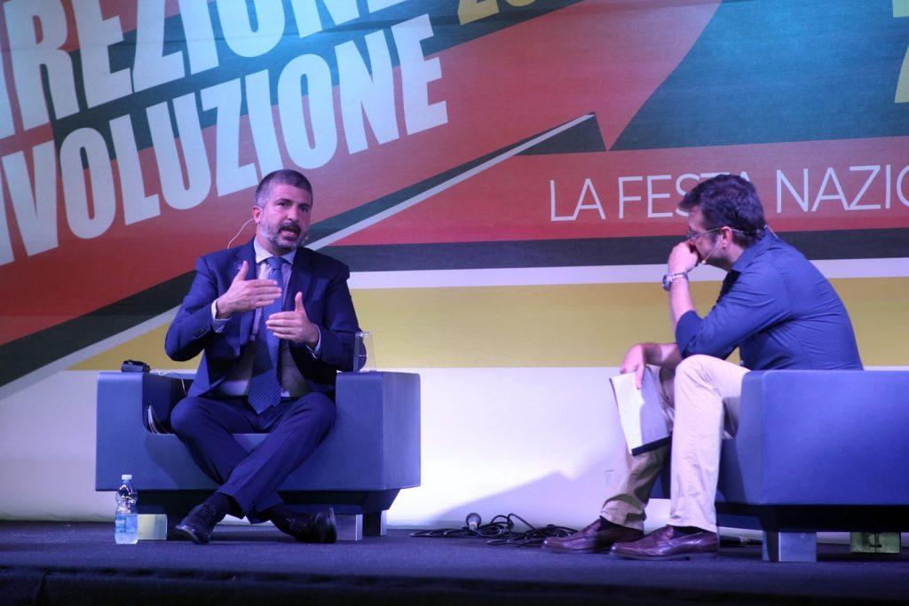 CasaPound, Di Stefano: da movimento a partito, dalla parte degli italiani