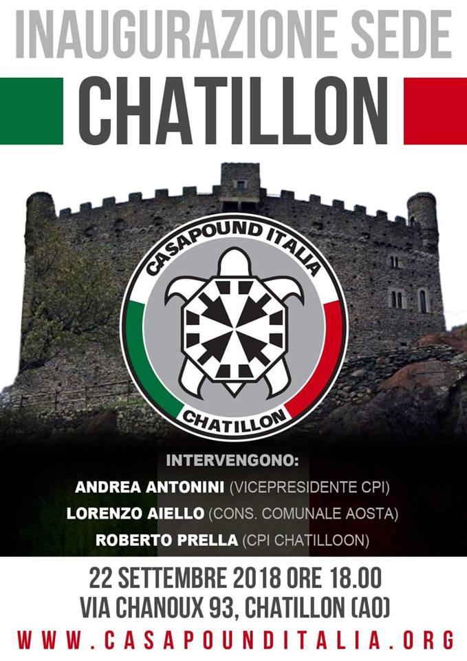 Inaugurazione sedi di CasaPound ad Ancona, Chatillon (AO), Tortona (AL), Civitavecchia (RM), Veglie (LE) e Nardò (LE)