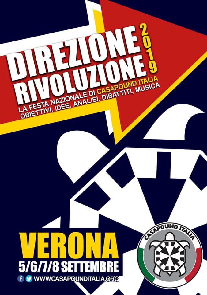 Festa Nazionale di CasaPound – Verona 5-8 settembre
