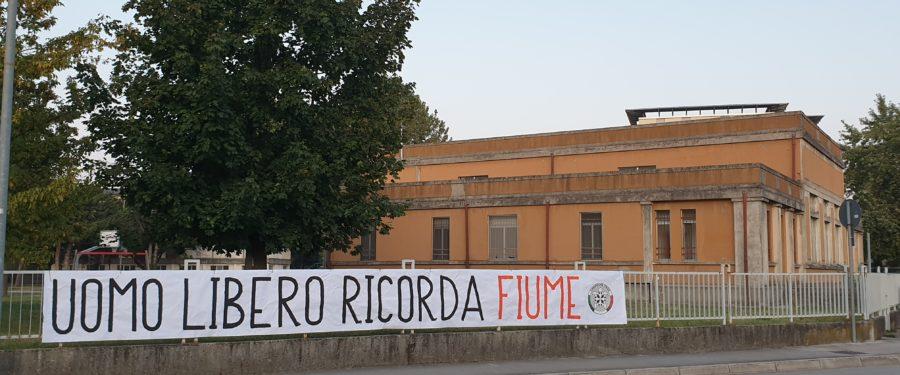 CasaPound ricorda in tutta Italia i 100 anni dell'impresa di Fiume