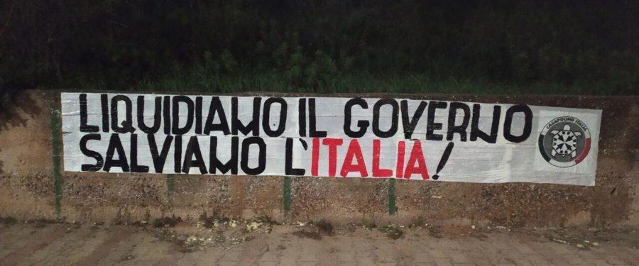 """Roma, CasaPound – liquidazione Air Italy, """"ennesima mancanza di controllo da parte dello Stato"""""""