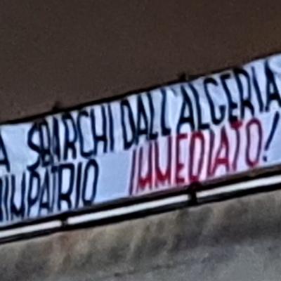 Sardegna, azione CasaPound contro sbarchi da Algeria nel Sulcis