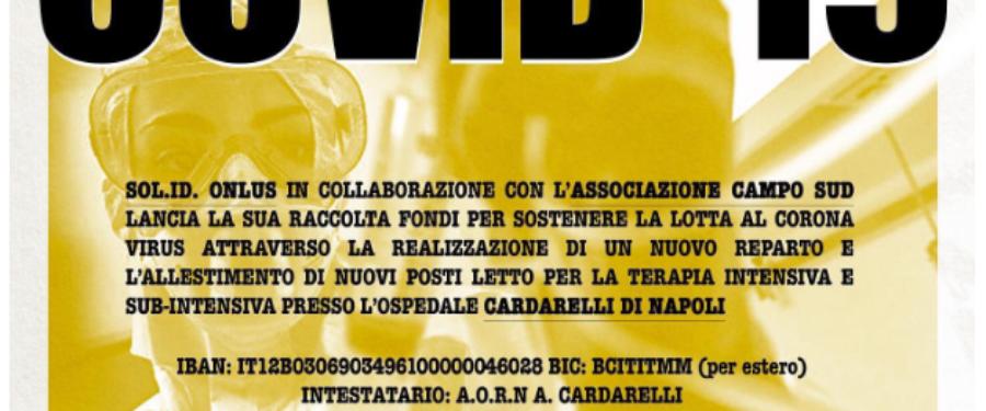 Raccolta fondi per l'Ospedale Cardarelli di Napoli