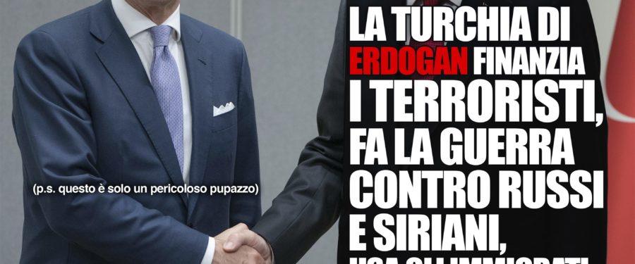 La Turchia di Erdogan finanzia i terroristi