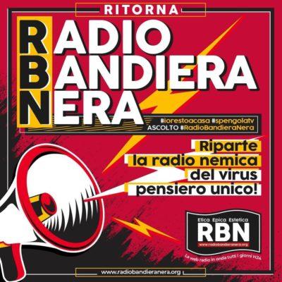 Ai tempi del coprifuoco da Coronavirus, Cpi rilancia Radio Bandiera Nera