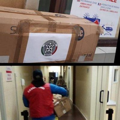 Sicilia, CasaPound distribuisce alimenti e materiale sanitario