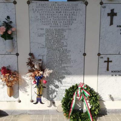 Treviso, CasaPound ricorda le vittime dell'Eccidio di Valdobbiadene