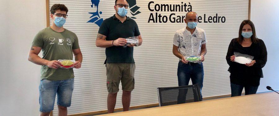 Riva del Garda: CasaPound dona mascherine sanitarie alla Comunità di Valle dell'Alto Garda e Ledro