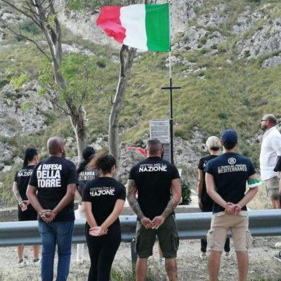 Sacrificò la vita per difendere Palermo dagli americani, l'omaggio di CasaPound a Barbadoro