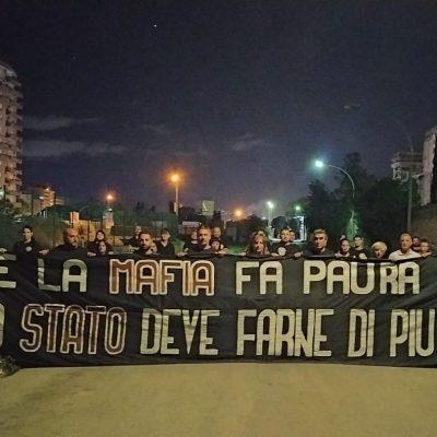 CasaPound alla commemorazione di Paolo Borsellino a Palermo in via D'Amelio