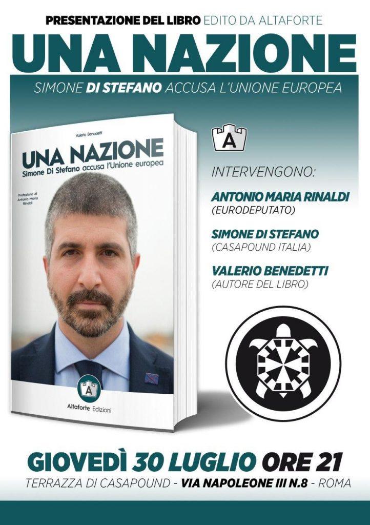 """Presentazione di """"Una Nazione"""" con Simone di Stefano e Antonio Maria Rinaldi"""