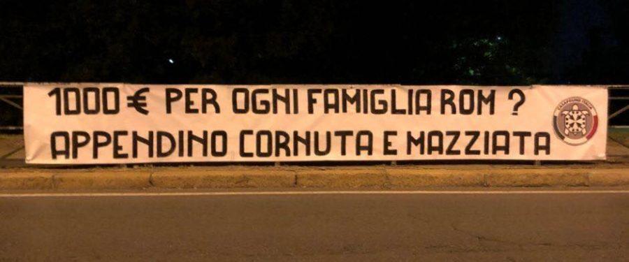 Rom a Torino, ennesimo fallimento della Appendino: duro attacco di CasaPound