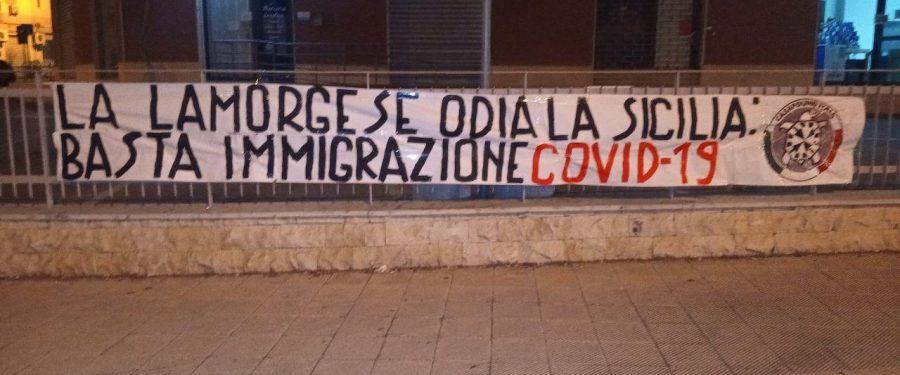 CasaPound Sicilia contro il Ministro Lamorgese