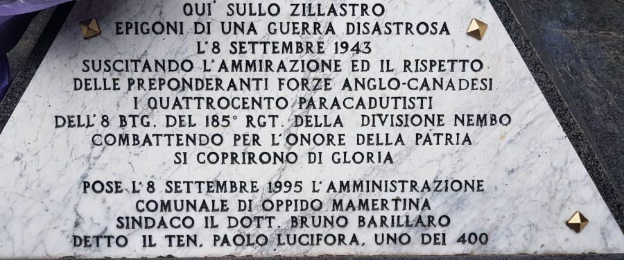 CasaPound Calabria commemora i caduti nella battaglia dello Zillastro
