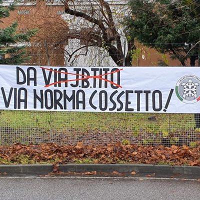 """""""Da Via Tito a Via Norma Cossetto"""": CasaPound contro la commissione toponomastica di Reggio Emilia"""