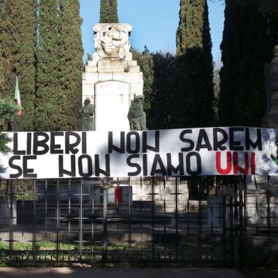 """CasaPound – Unità d'Italia, """"necessario ricordare la forza della nostra nazione"""""""