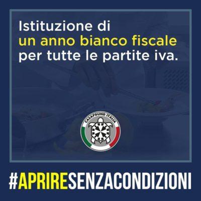 #Apriresenzacondizioni: le proposte di CasaPound Italia