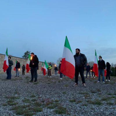 25 Aprile, CasaPound ricorda vittime delle foibe a Basovizza