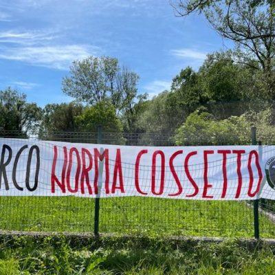 Rieti, CasaPound riqualifica e dona una panchina tricolore al parco 'Norma Cossetto'
