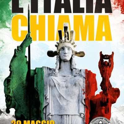 Manifestazione nazionale di CasaPound a Roma il 29 maggio