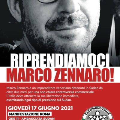 Riprendiamoci Marco Zennaro!