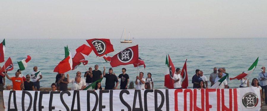 """CasaPound, manifestazione contro l'immigrazione clandestina, """"Pozzallo non deve essere dimenticata"""""""