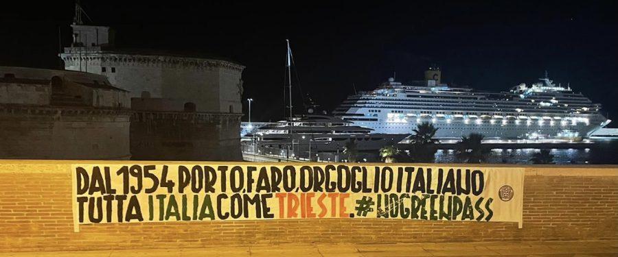 """Green Pass, CasaPound sostiene i portuali: """"battaglia per i diritti di tutti i lavoratori"""""""